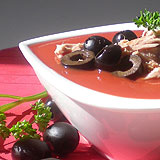 Sauce « Thon aux olives » : tomate, thon, olives